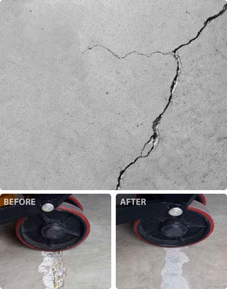 concrete crack sealing material